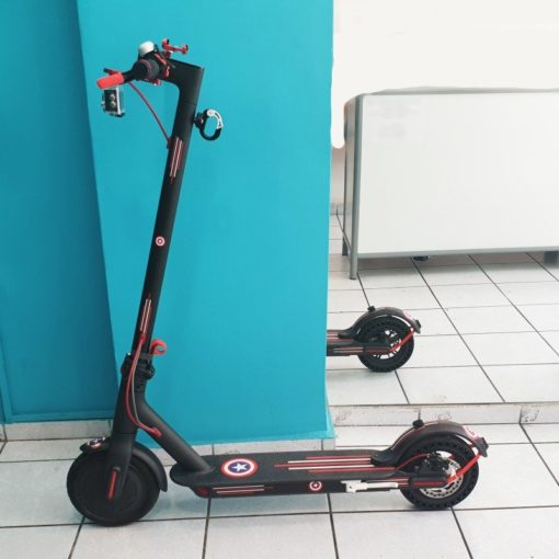 Printed footboard αυτοκόλλητα για e-scooter Xiaomi m365