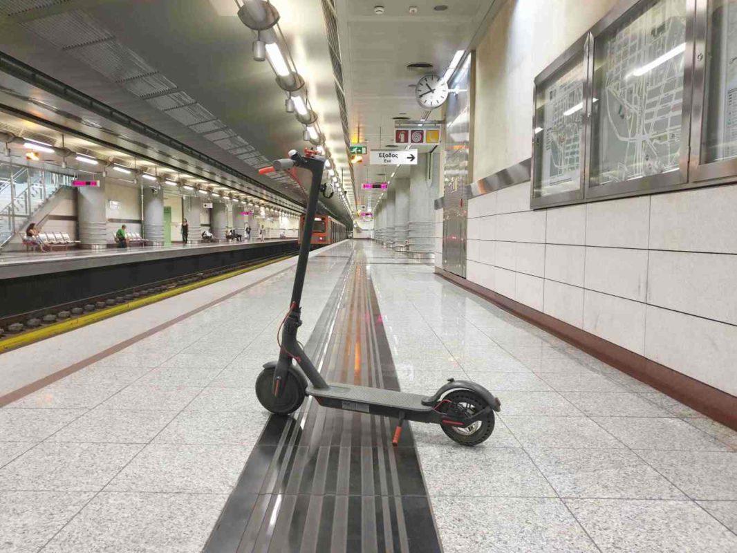 Συνδυασμένη μετακίνηση Χολαργός-Άλιμος… ένα πατίνι δρόμος!