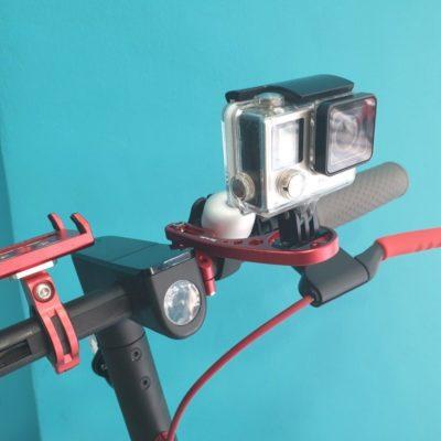 GUB Βάση κάμεραs GO PRO ηλεκτρικού πατινιού