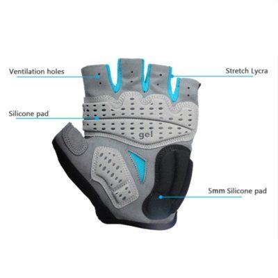 GUB Κοντά γάντια e-scooter