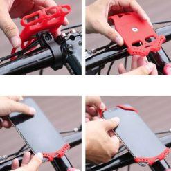 Βάση κινητού σιλικόνης για ηλεκτρικό πατίνι