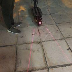 Τετράγωνο φλας για e-scooter